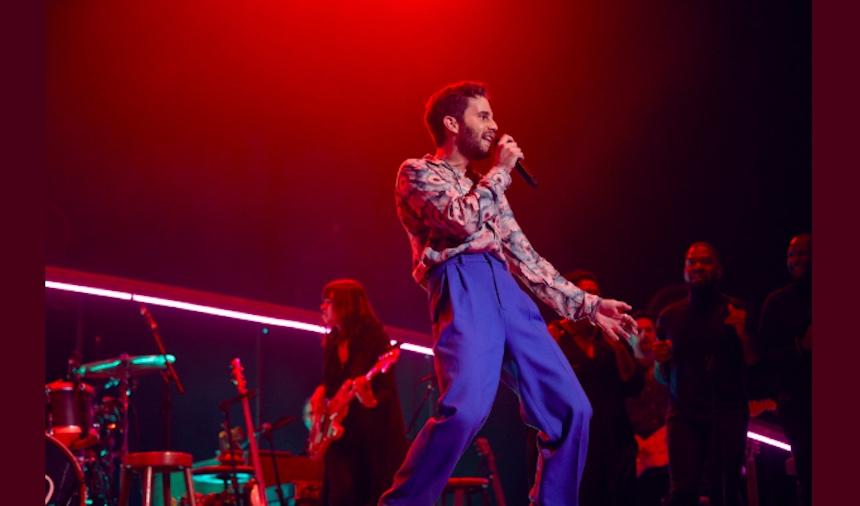 Una probadita del concierto de Ben Platt para Netflix