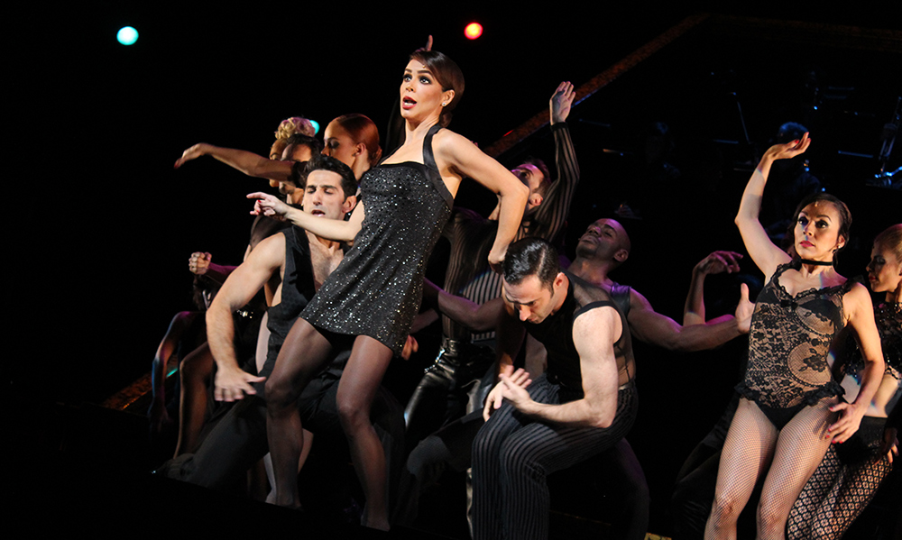 Bibi Gaytán en Chicago el Musical
