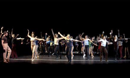 Una cachito de la Chorus Line de Antonio Banderas
