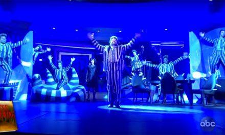 El número más divertido de Beetlejuice se presentó en TV