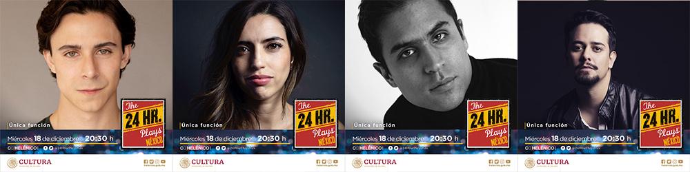 Del elenco de 24 Hour Plays México