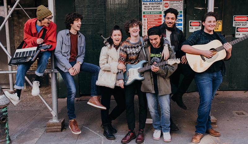 El elenco de Sing Street para Broadway.