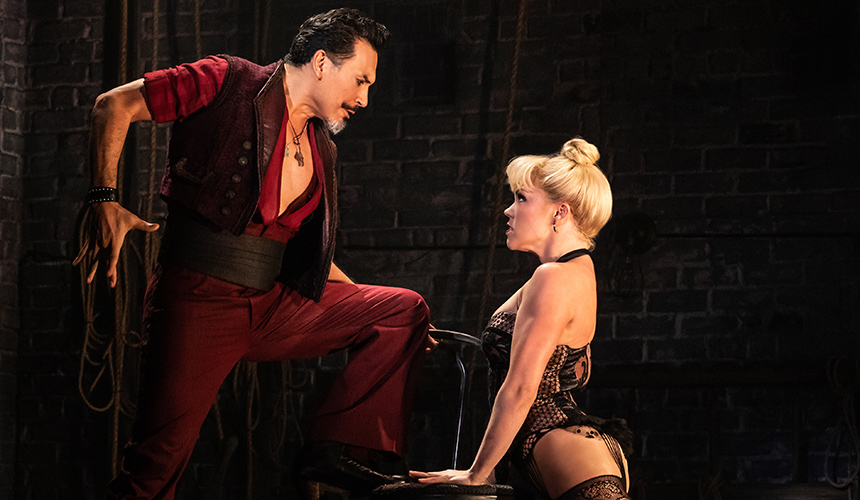 Hablamos con Ricky Rojas de Moulin Rouge! Broadway