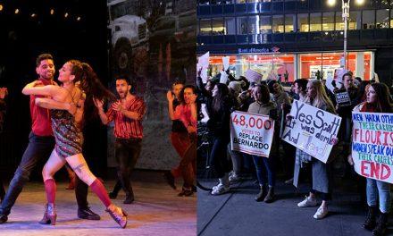 ¿Por qué hay protestas afuera de West Side Story?
