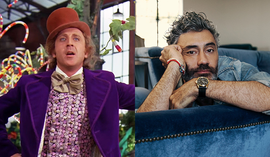 Taika Waititi prepara dos series de Willy Wonka