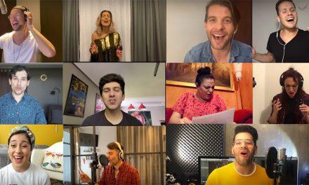Musicaleros cantan emotiva versión de You Will Be Found
