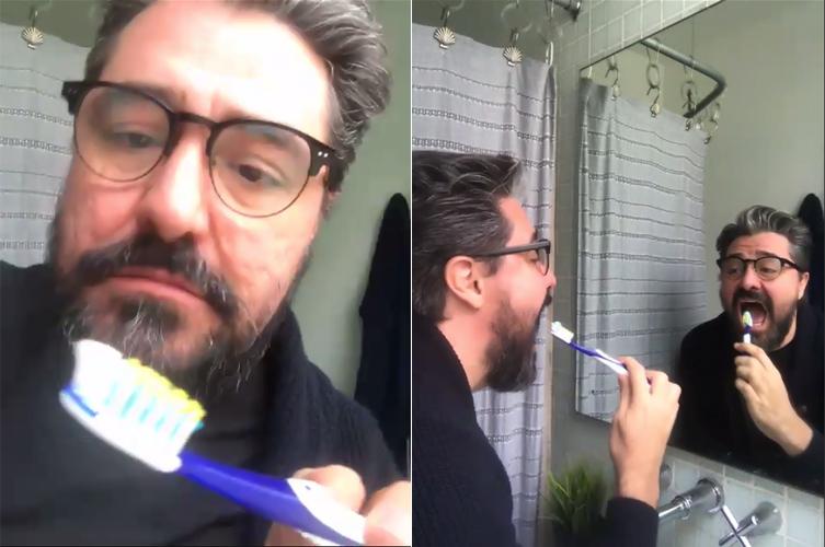 Manuel Gorka en Del Correcto Aseo de los Dientes