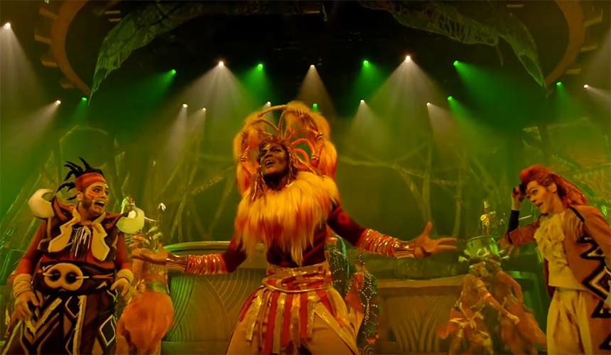 Ve el musical de The Lion King de Disneyland online