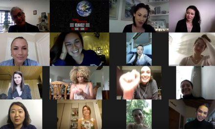 Biby Gaytán se reúne con las Velma Kelly del mundo