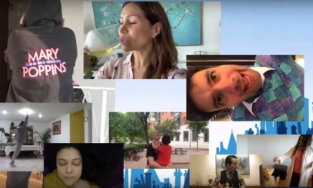Mary Poppins México tuvo un reencuentro virtual