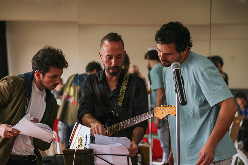 Alan Estrada prepara nuevo musical