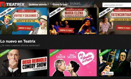 La Teatrería lanzará servicio de teatro por streaming