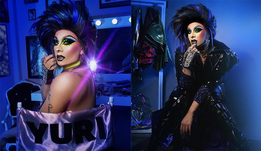 Cantante, actor, drag queen, Anuar lo puede ser todo
