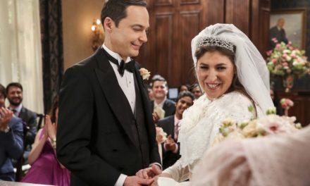 15 fotos de la boda de Sheldon y Amy #BBT