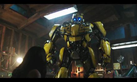 Bumblebee es un vochito en el trailer de su nuevo spin off