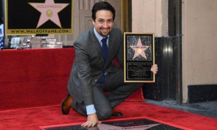 Lin Manuel Miranda ya tiene su estrella en Hollywood