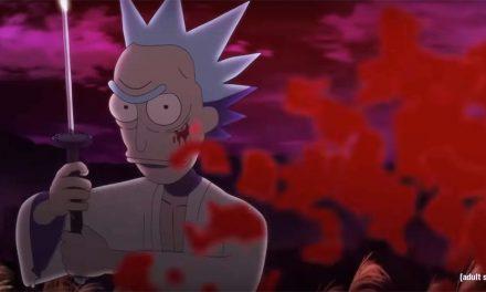 El corto samurai de Rick & Morty que necesitabas ver